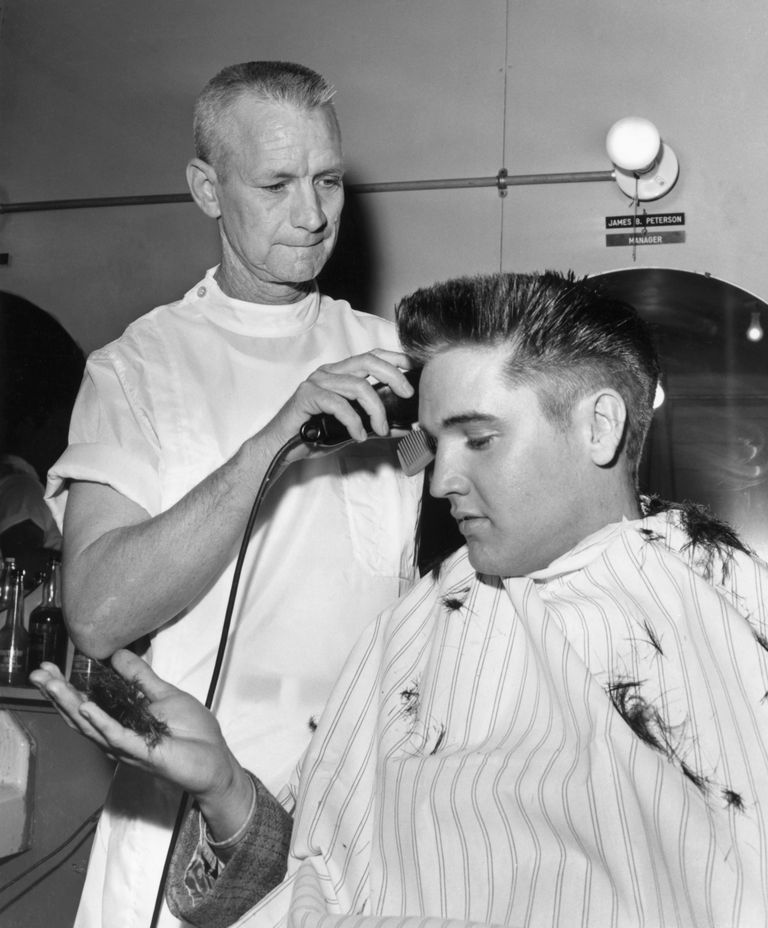 chops barbers elvis haircut